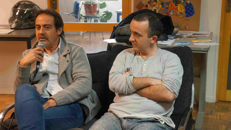 Jean Marc de l'ACEC et Romain