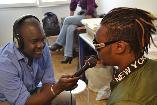 Gilson interviewé par Mohamed