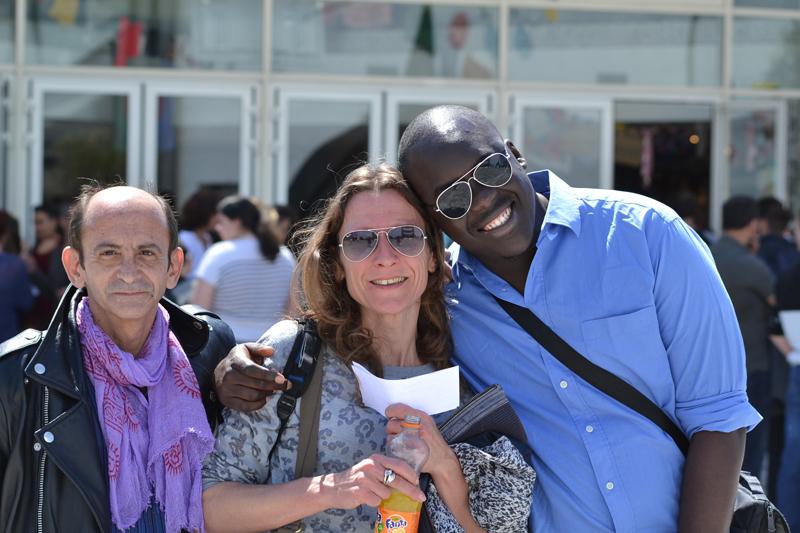 Olivier, Tania et Mohamed