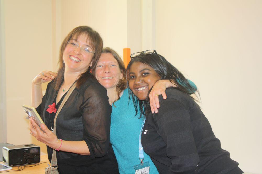 Basma, Tania et Mariam