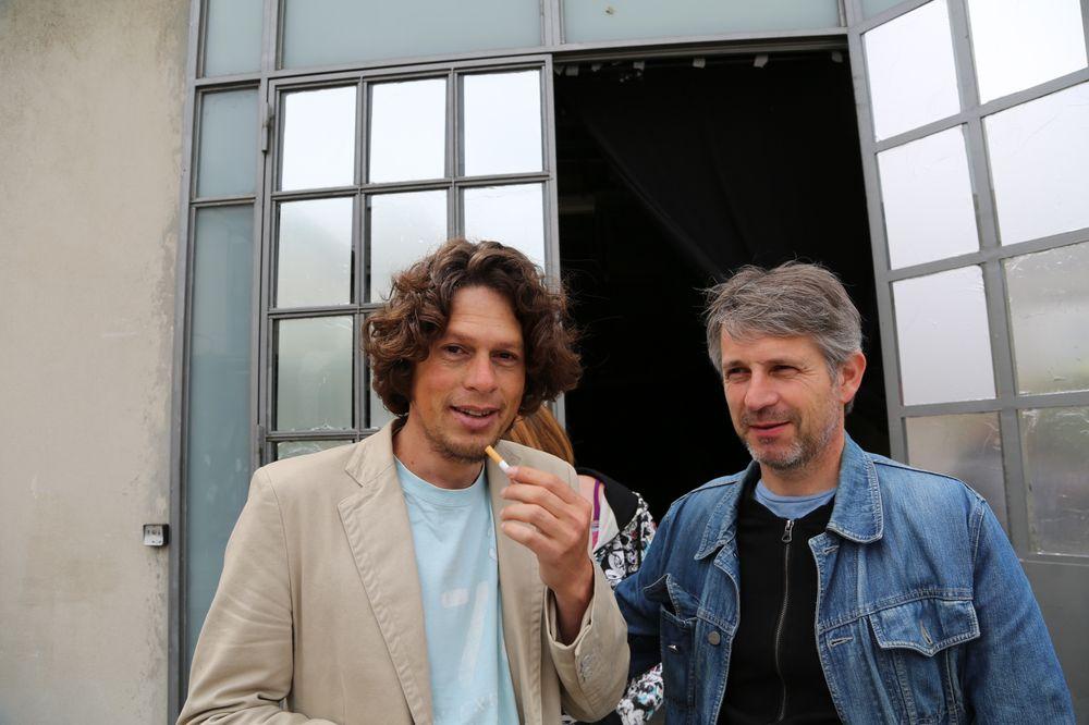 Tiago et Laurent