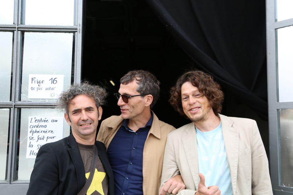 Fred, Xavier et Tiago