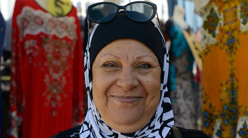 Cherifa, une femme heureuse