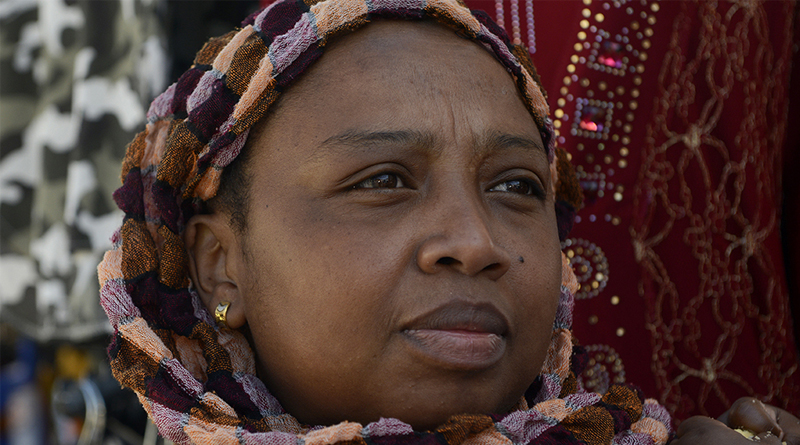 Radhuia, femme active