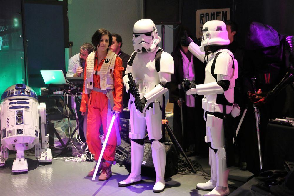 Galaxie Vésubie, les fans de Star Wars