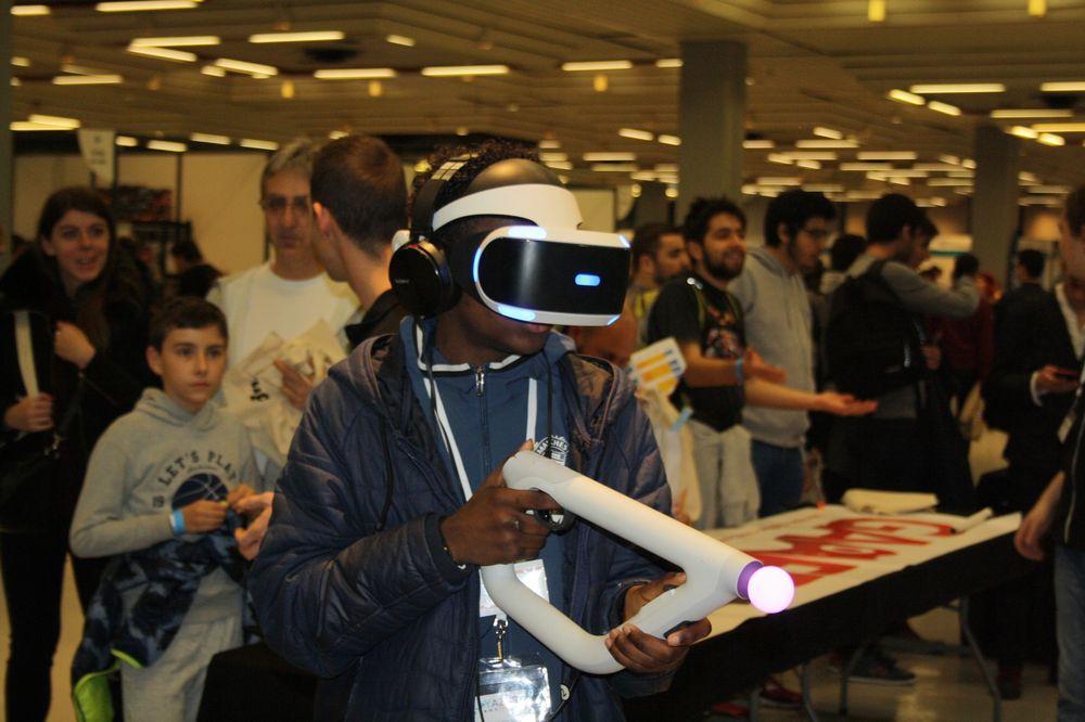 Arouna et la réalité virtuelle