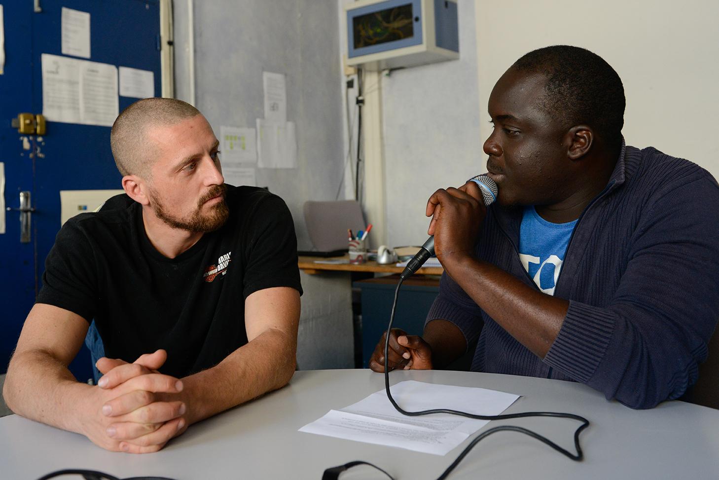 Mohamed et Mickaël