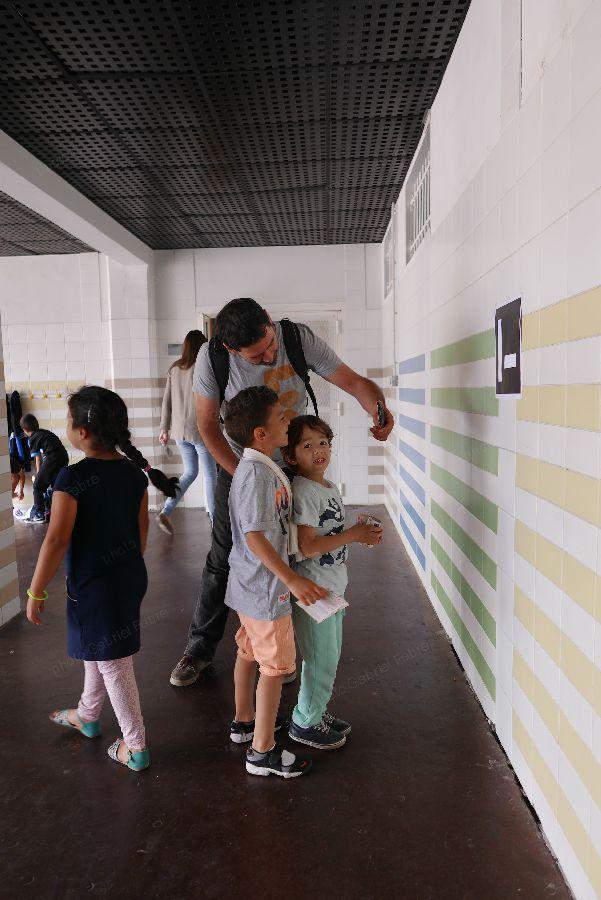 Visite à l'école Pagnol