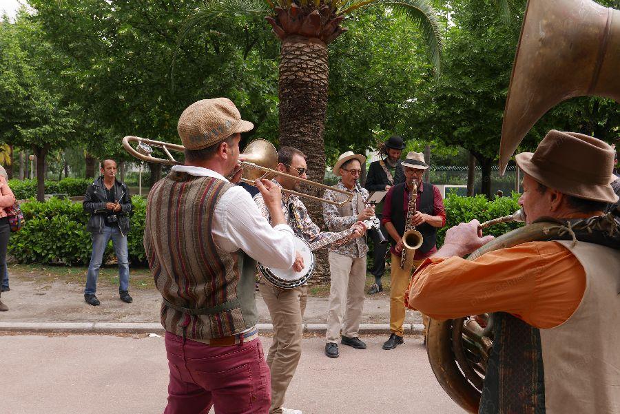 La fanfare au jardin de l'Ariane