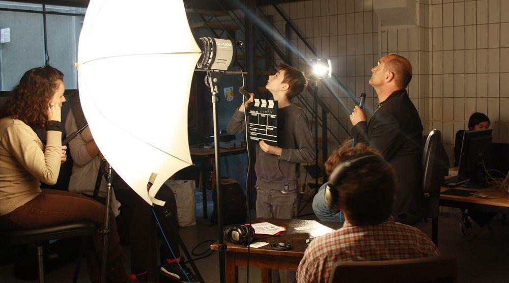 Interview et tournage
