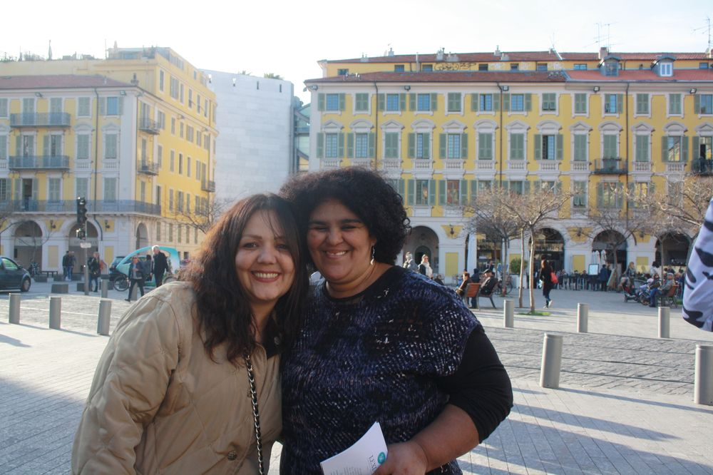 Rosemarie et Saïda