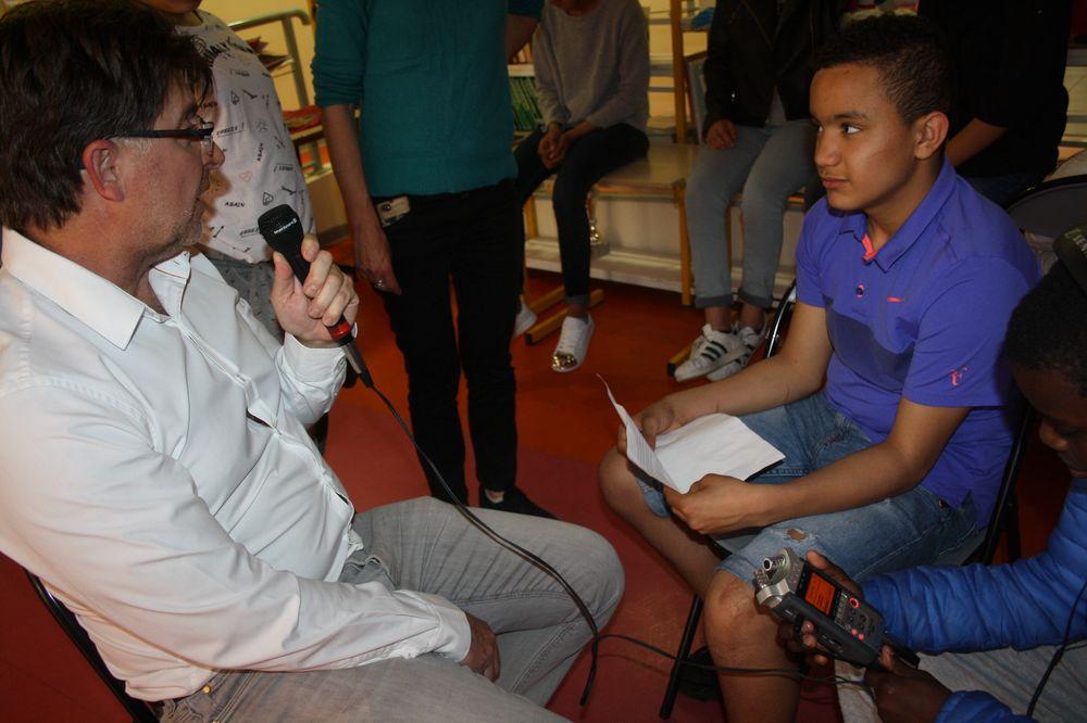 Wissam en interview