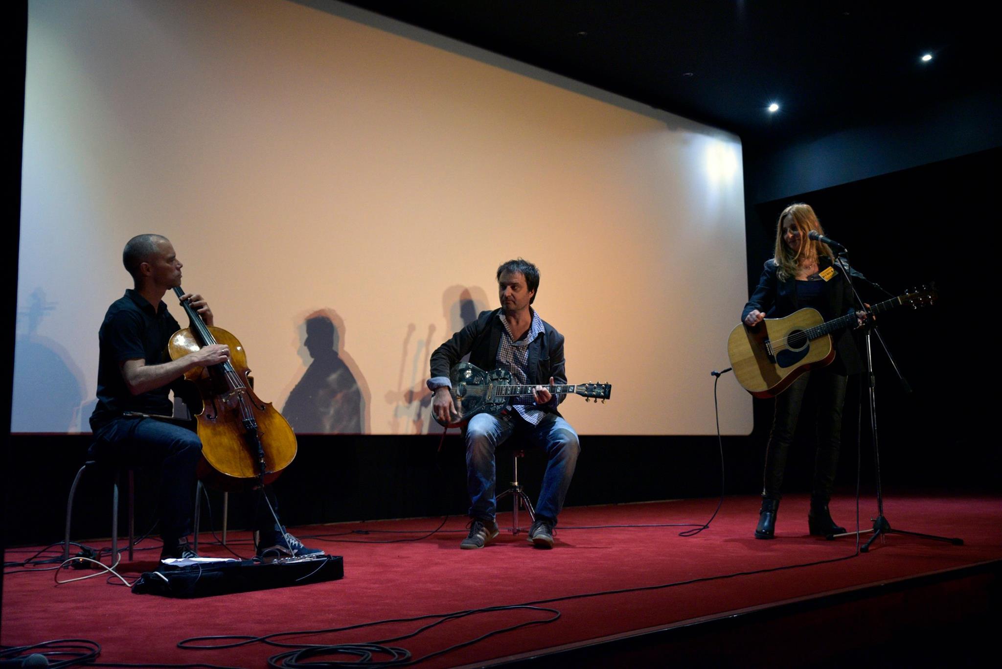 Christine Lidon, Melchior Liboa et Raphaël Sweifel