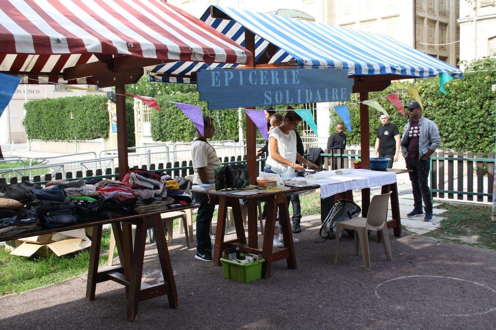 le quartier palais des exposition en fête @ligne16_16